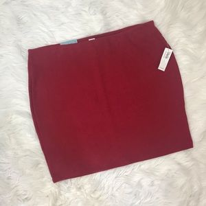 Old Navy Skirts - Red Mini Skirt ❤️ NWT